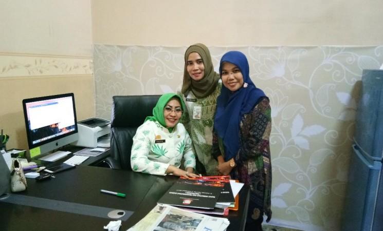 Koordinasi ke Badan Penelitian dan Pengembangan Kota Makassar