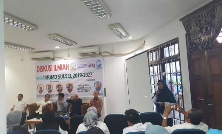 DISKUSI ILMIAH RPJMD SUL-SEL 2019-2023