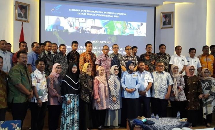 Kunjungan Kerja dan Bimbingan Teknis di LAPAN Jakarta