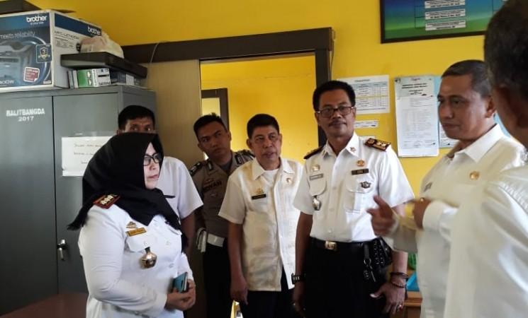 Kunjungan Bupati Wajo di Kantor Balitdangda Wajo